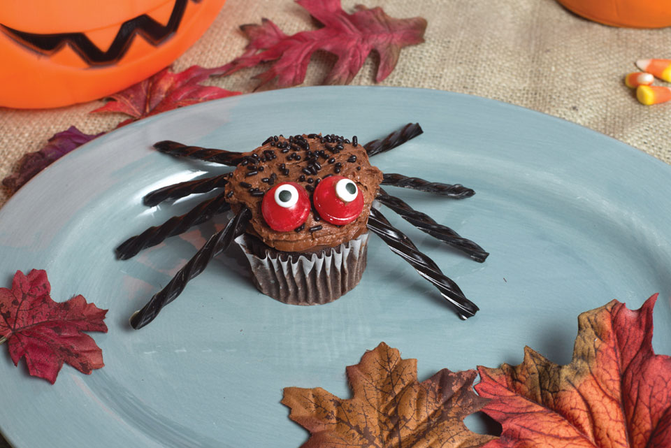 monthly dish_spider-cupcake_5074