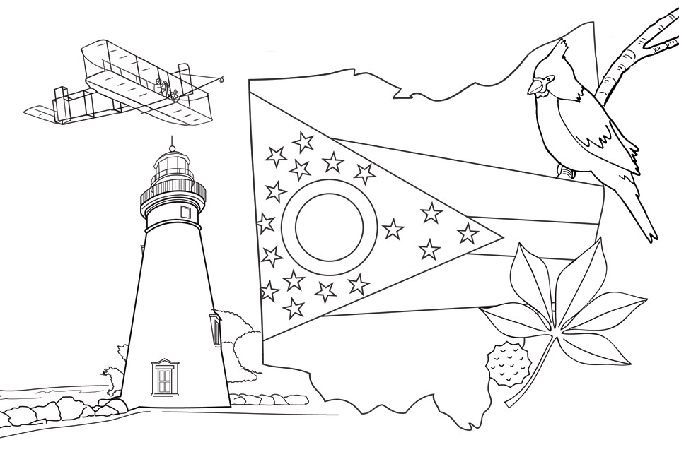 digest coloring page