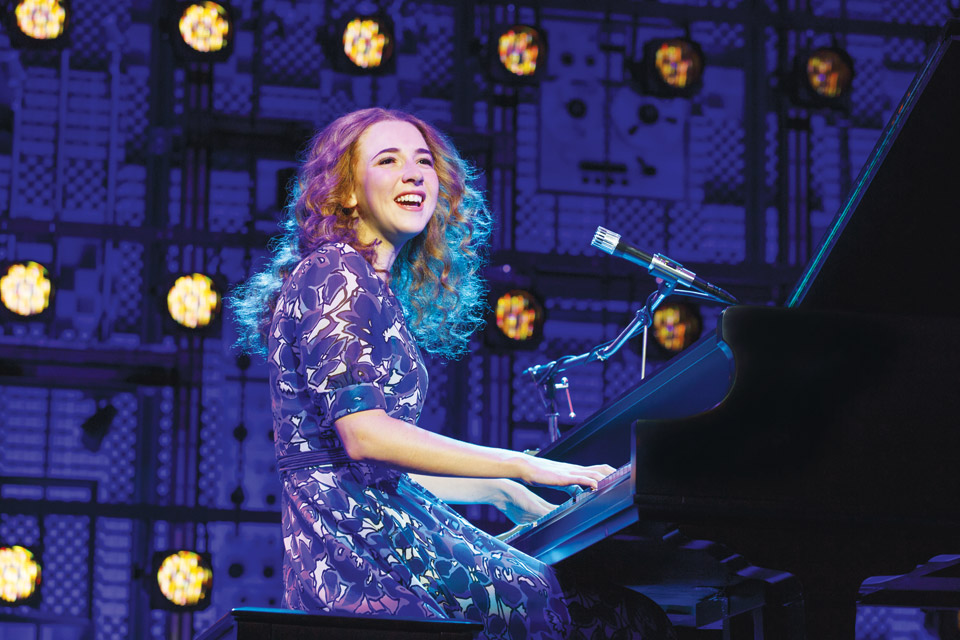 "Julia Knitel in ""Beautiful — The Carole King Musical"""