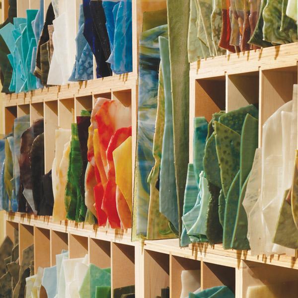 Glass Used By Tiffany Studios
